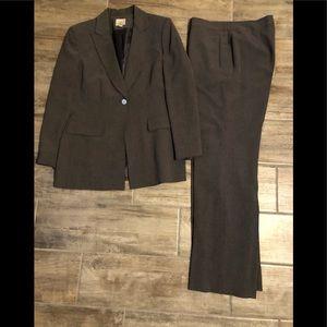 2 pieces Anne Klein formal grey suits